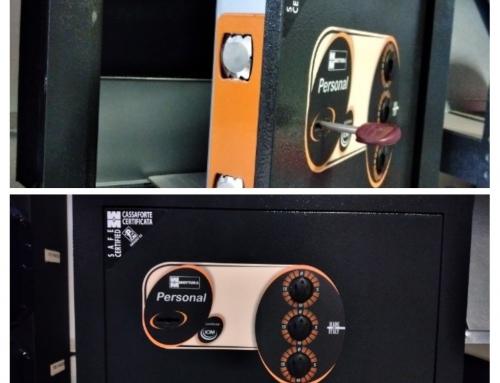 Cassaforte certificata Mottura chiusura chiave+combinazione meccanica